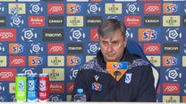 Lech Poznań. Konferencja trenera Macieja Skorży przed meczem z Górnikiem Zabrze. Wideo