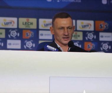 Lech Poznań - Korona Kielce 0-0. Dariusz Żuraw po meczu. Wideo