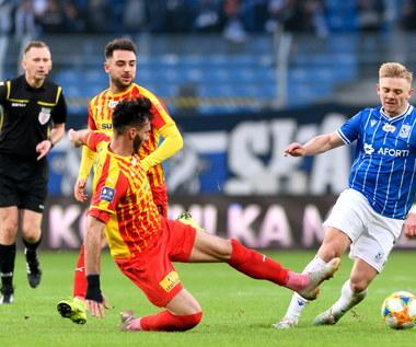 Lech Poznań - Korona Kielce 0-0 w meczu 15. kolejki Ekstraklasy
