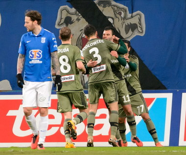 Lech Poznań - Legia Warszawa 0-2 w 28. kolejce Ekstraklasy
