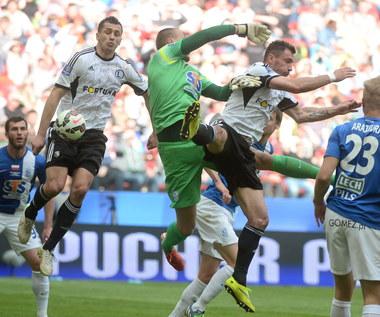 Lech Poznań - Legia Warszawa 1-2 w finale Pucharu Polski