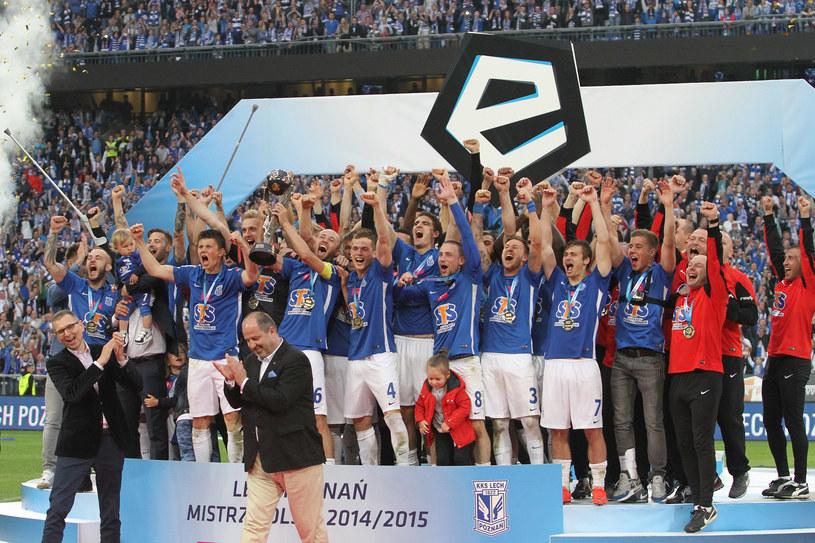 Lech Poznań mistrzem Polski /Fot. Andrzej Grupa /INTERIA.PL