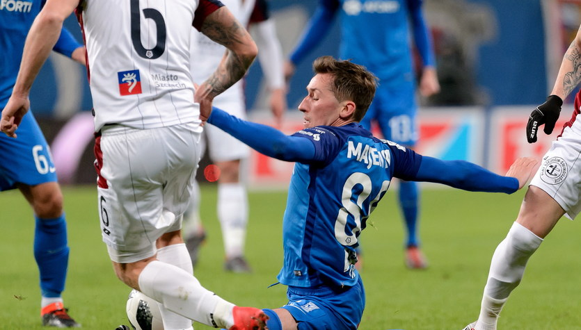 Lech Poznań - Pogoń Szczecin 2-0 w meczu 23. kolejki Ekstraklasy