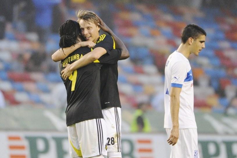 Lech Poznań rozczarował w pierwszym meczu z  AIK Sztokholm /PAP/EPA
