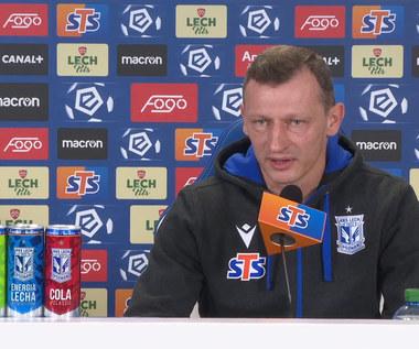 Lech Poznań. Trener Dariusz Żuraw przed meczem ze Śląskiem Wrocław. Wideo