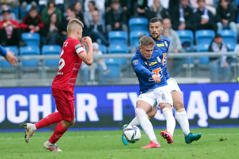 Lech Poznań w meczu Pucharu Polski ze Skrą Częstochowa /Jakub Piasecki /Newspix