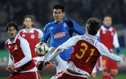 Lech walczył z Deportivo, ale do zwycięstwa czegoś zabrakło /AFP