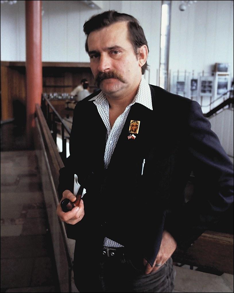 Lech Wałęsa, 1981 rok /LEHTIKUVA/MARKKU VUORELA /East News