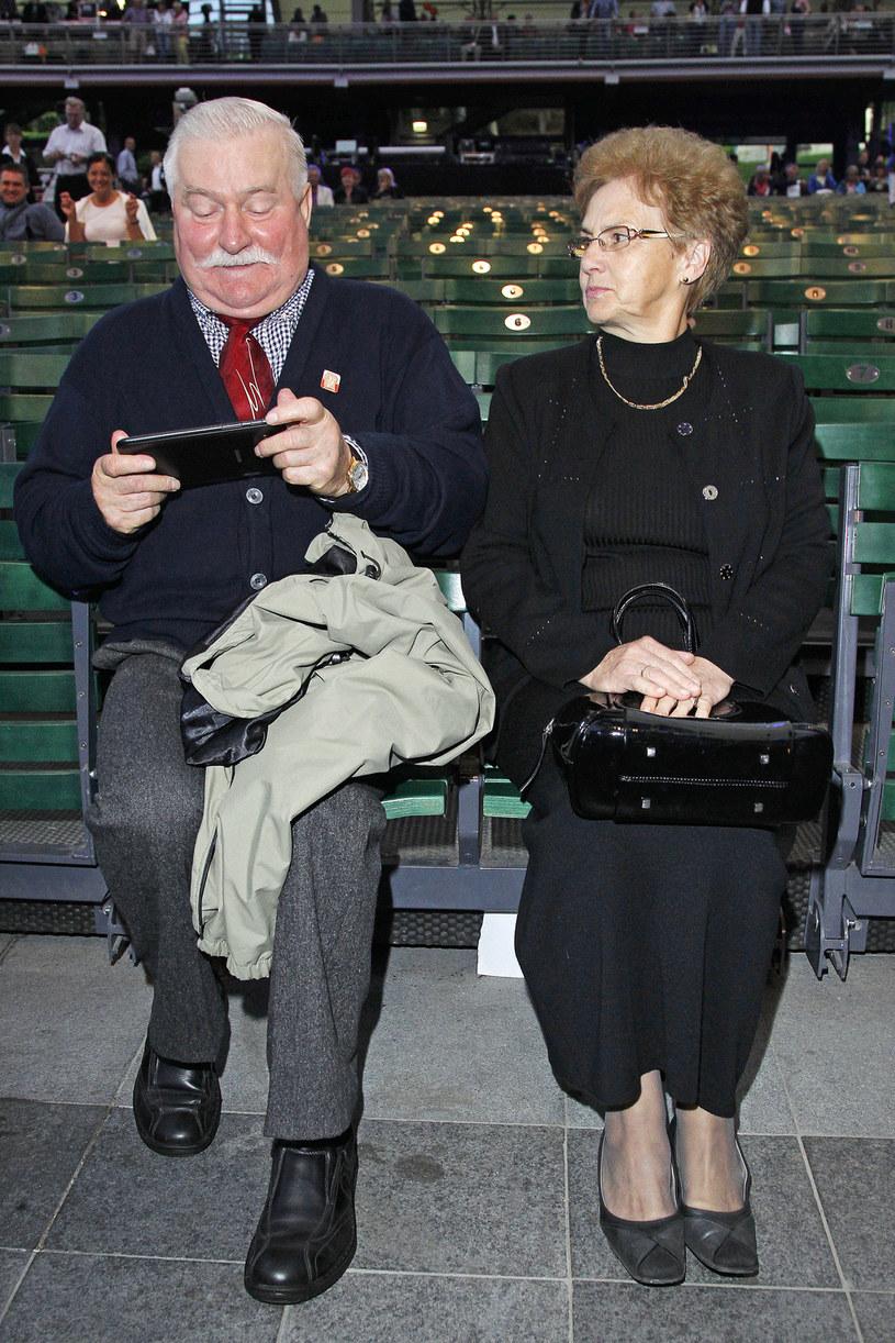 Lech Wałęsa, Danuta Wałęsa / Engelbrecht