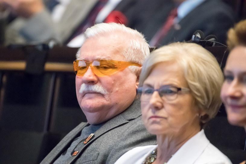 Lech Wałęsa, Danuta Wałęsa /Wojciech Strozyk/ /Reporter