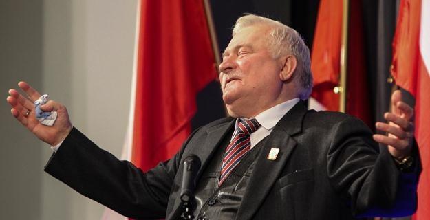 Lech Wałęsa, fot. Jakub Kamiński /PAP