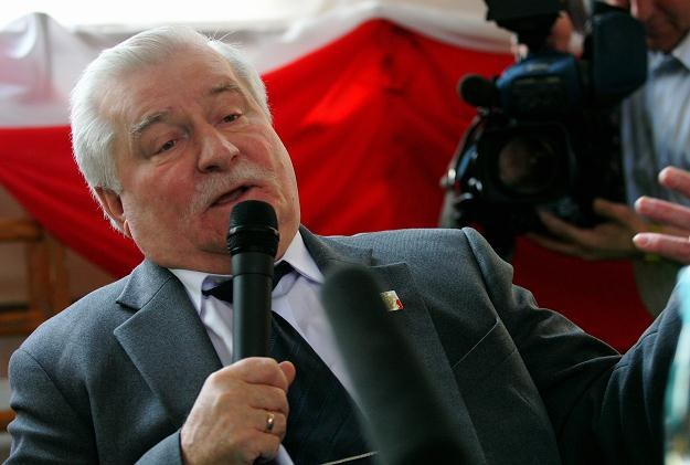 Lech Wałęsa, fot. Wojtek Szabelski /Agencja FORUM