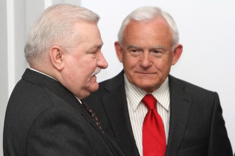 Lech Wałęsa i Leszek Miller /J. Kucharzyk /East News