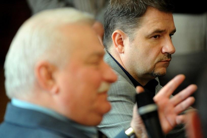 Lech Wałęsa i Piotr Duda /Wojciech Strozyk/REPORTER /East News
