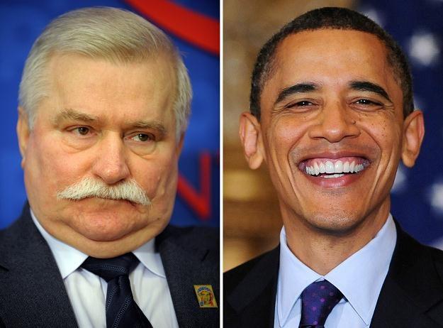 Lech Wałęsa nie przybył na spotkanie z Obamą /AFP