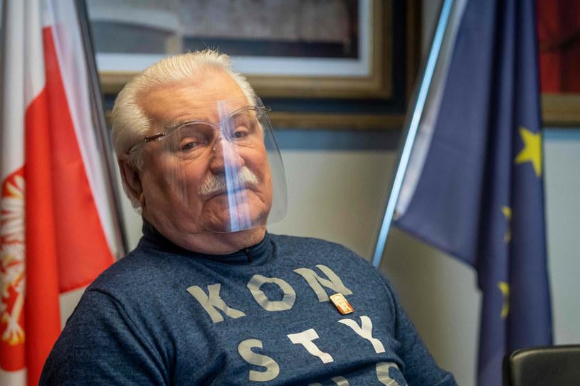 Lech Wałęsa nie zjawił się na uroczystości. Nie pozwolił na to jego stan zdrowia /WOJTEK RADWANSKI / AFP /East News