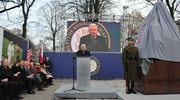 Lech Wałęsa odsłonił w Warszawie pomnik Ronalda Reagana