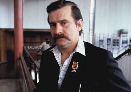 Lech Wałęsa, rok 1981 /AFP