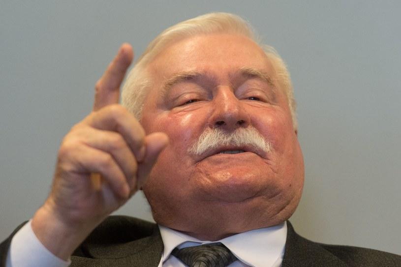 """Lech Wałęsa: """"SB współpracowało ze mną, a nie odwrotnie"""" /Lukasz Dejnarowicz /Agencja FORUM"""