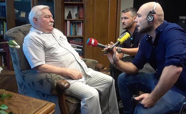 Lech Wałęsa: To jest droga do wojny domowej. Chciałbym jej uniknąć
