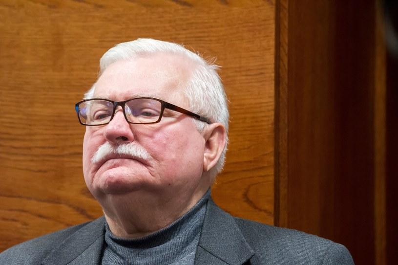"""Lech Wałęsa udzielił wywiadu włoskiemu dziennikowi """"La Repubblica"""" /Wojciech Stóżyk /Reporter"""