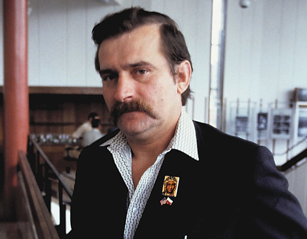 Lech Wałęsa w 1981 roku /MARKKU VUORELA /AFP