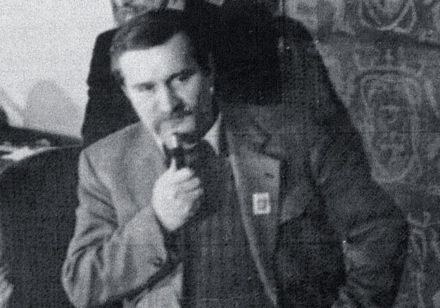 Lech Wałęsa w 1983 roku /AFP