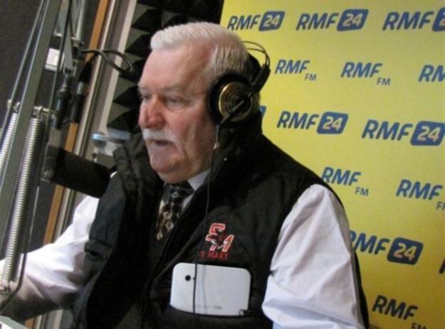 Lech Wałęsa w Kontrwywiadzie RMF FM /RMF