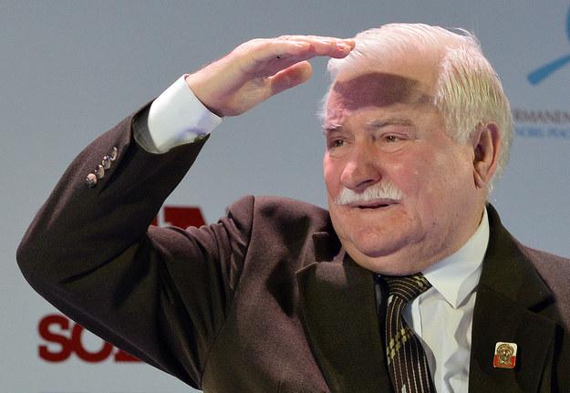 Lech Wałęsa wraca do formy /AFP