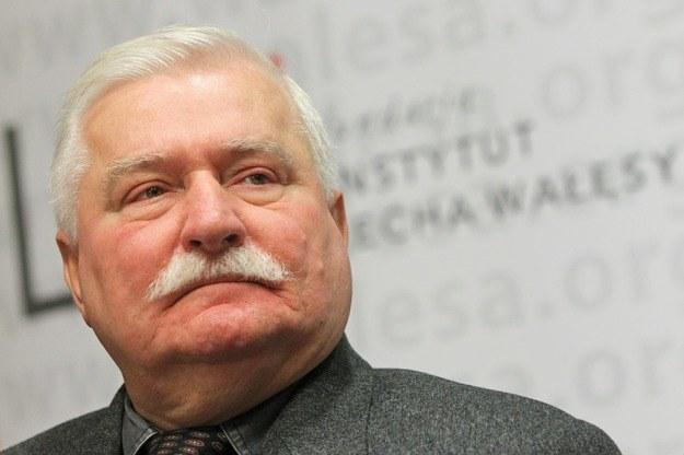Lech Wałęsa zapowiada, że już nigdy nie poleci do Londynu. /Piot Wittman /PAP