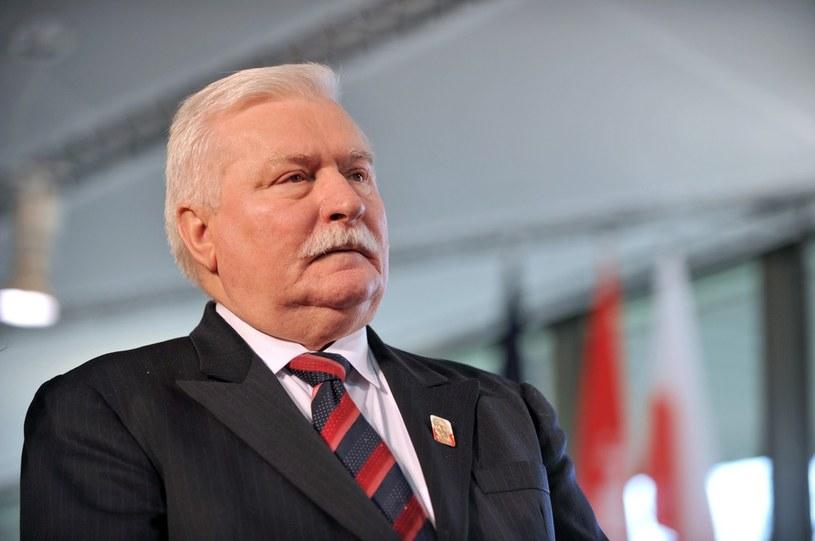 Lech Wałęsa /Frank Perry /AFP