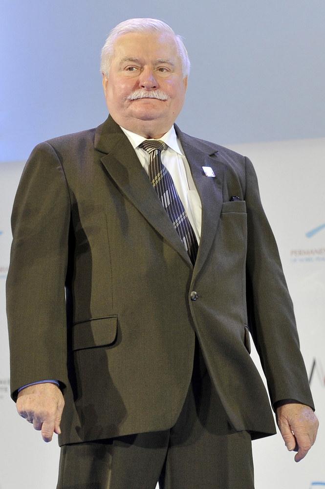 Lech Wałęsa /Piętka Mieszko /AKPA