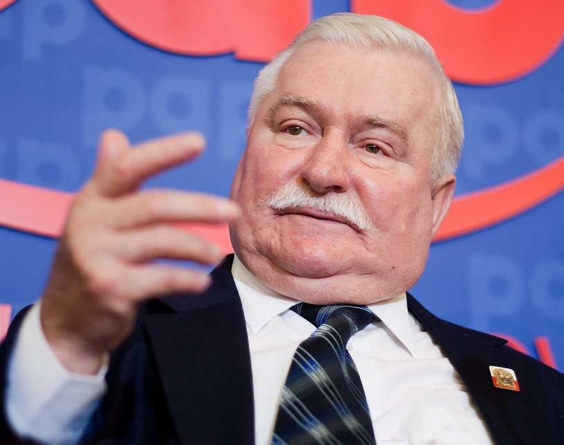 Lech Wałęsa /Adam Guz /Reporter