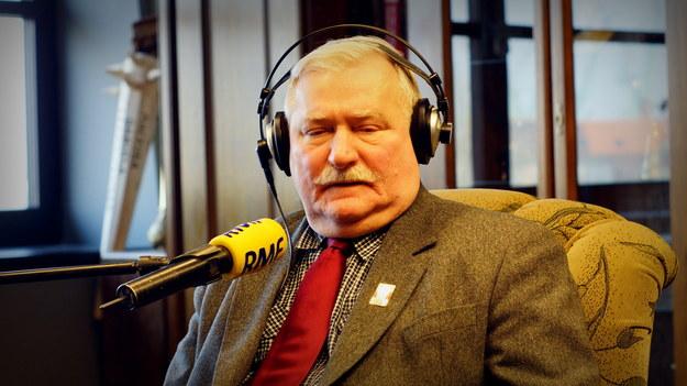 Lech Wałęsa /Michał Dukaczewski /RMF FM