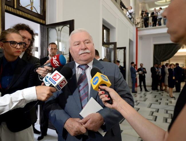 Lech Wałęsa /PAP/Bartłomiej Zborowski /PAP