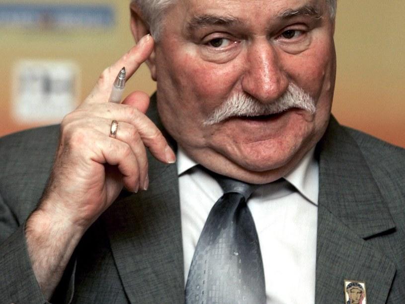 Lech Wałęsa /JOSE SIMAL /PAP/EPA
