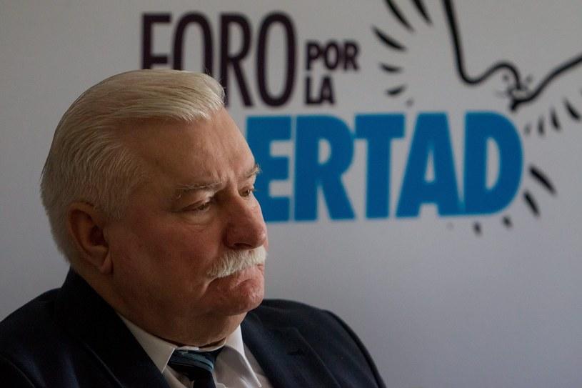 Lech Wałęsa /PAP/EPA