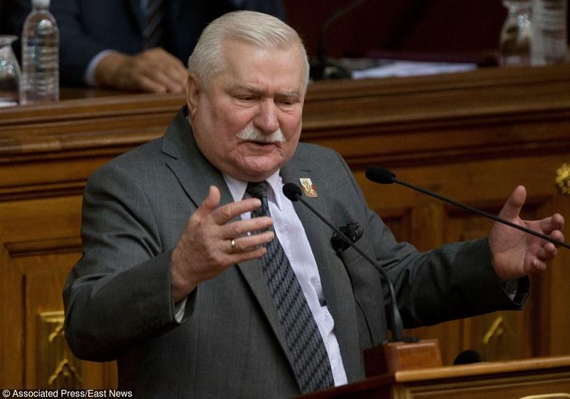 Lech Wałęsa /AP /East News