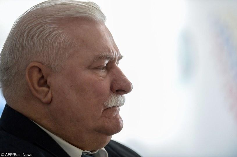 Lech Wałęsa /AFP /East News
