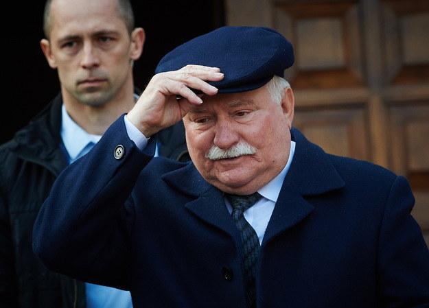 Lech Wałęsa /Adam Warżawa /PAP