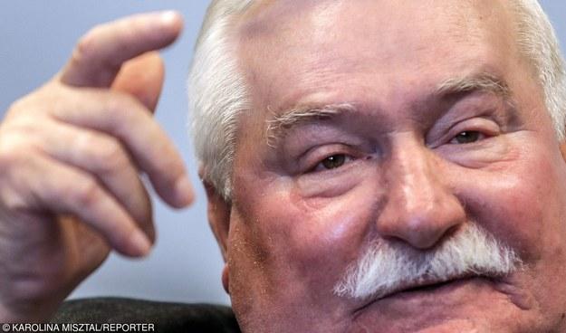 Lech Wałęsa /KAROLINA MISZTAL/REPORTER /East News