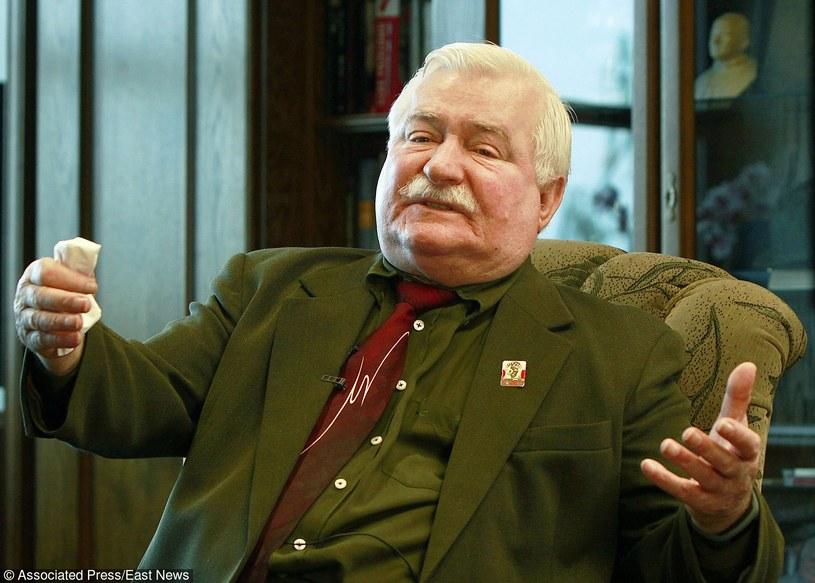 Lech Wałęsa /Fotolink /AP