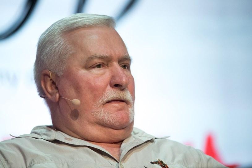 Lech Wałęsa /Lukasz Piecyk /Reporter