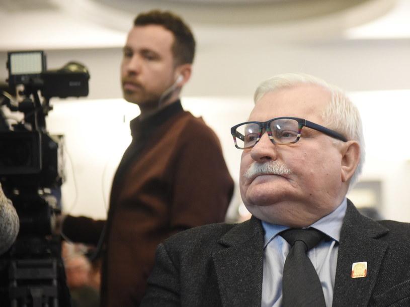 Lech Wałęsa /Radek Pietruszka /PAP