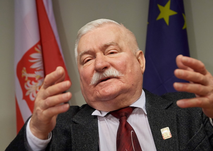 Lech Wałęsa /Adam Warżawa /PAP/EPA