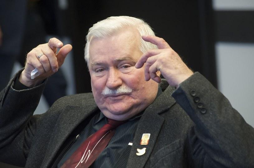 Lech Wałęsa /Strozyk /Reporter
