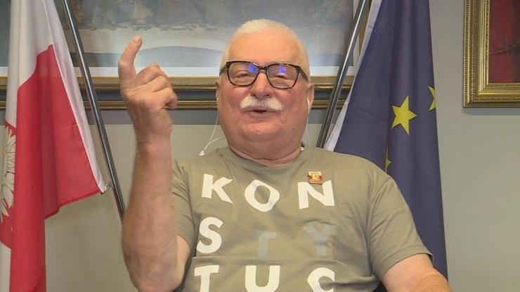 Lech Wałęsa /Polsat News