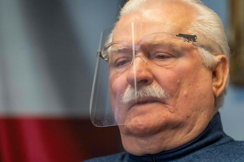 Lech Wałęsa /WOJTEK RADWANSKI / AFP /East News