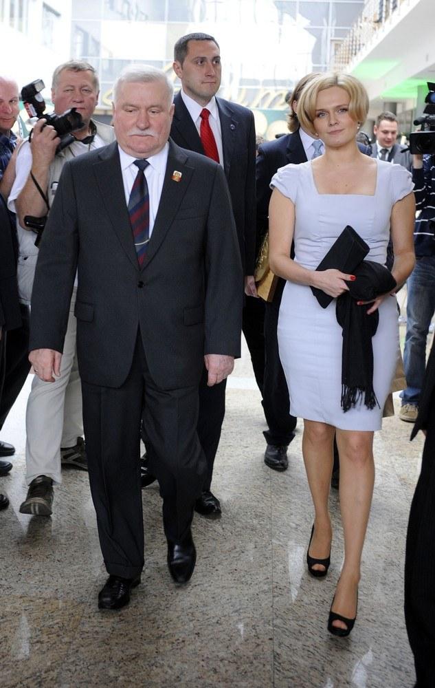 Lecha Wałęsa i Maria Wiktoria /- /East News