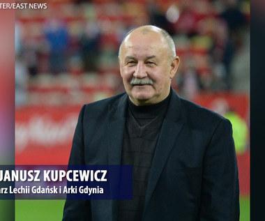 Lechia - Arka. Janusz Kupcewicz: To były specyficzne mecze. Wideo